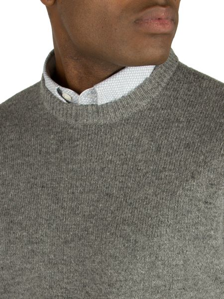 Racing Green Whiston crew neck knit jumper