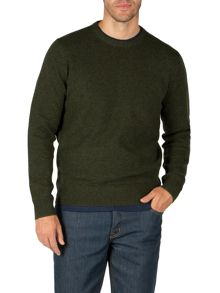 Whiston crew neck knit jumper