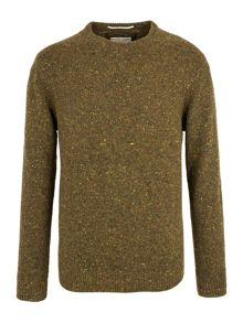 Selby crew neck nep knit jumper