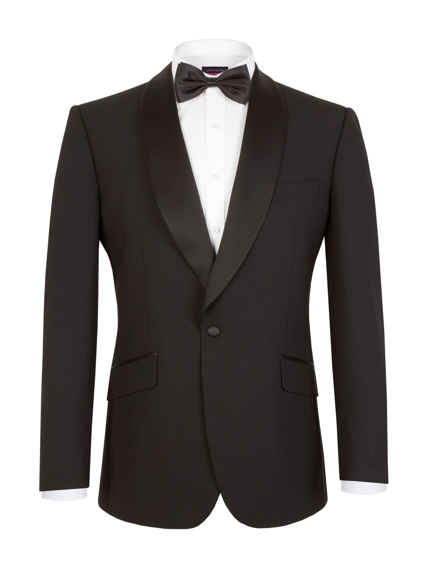 Men 39 s pierre cardin plain notch collar classic fit jacket for Quality classic house of fraser