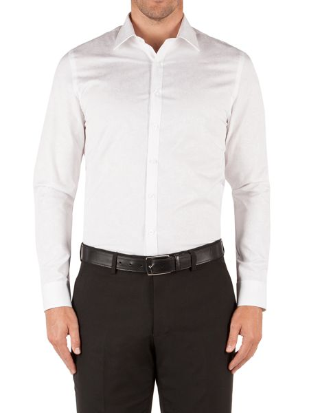 Alexandre of England Slim Fit Long Sleeve Classic Collar Shirt