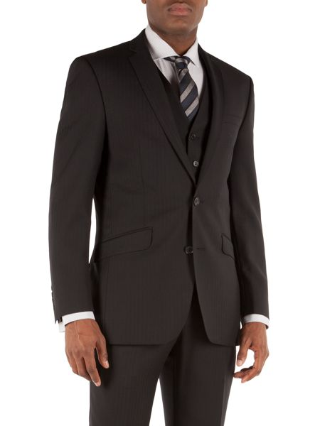 Racing Green Tailored Fit Suit Jacket