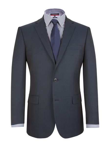 Pierre Cardin Plain Notch Collar Classic Fit Suit Jacket