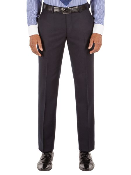 Alexandre of England Tapered Fit Formal Flannel Trousers