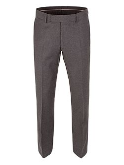 Tapered Fit Formal Flannel Trousers