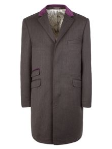 Covert Formal Button Overcoat