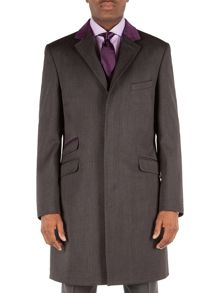 Alexandre of England Covert Formal Button Overcoat