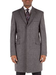 Alexandre of England Formal Check Overcoat