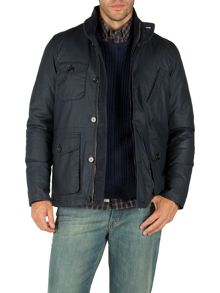 Friday four pocket coated cotton jacket