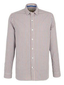 Whitby multi check shirt