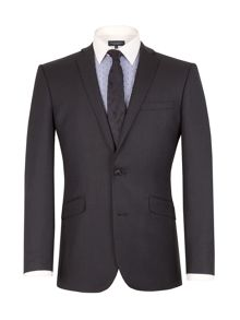Racing Green Birdseye Tailored Fit Suit Jacket