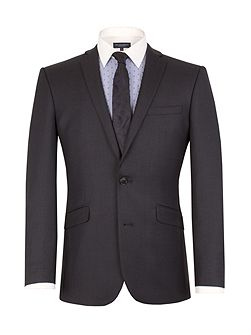 Birdseye Tailored Fit Suit Jacket