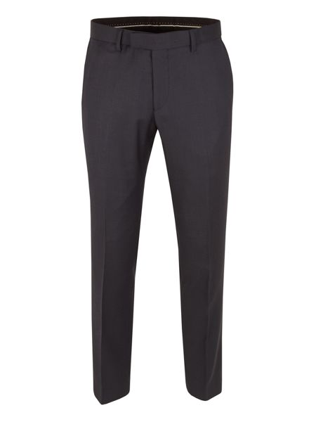 Racing Green Birdseye Tailored Fit Suit Trousers
