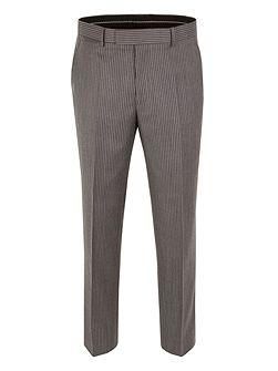 Striped Classic Fit Suit Trousers