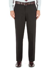 Plain Classic Fit Suit Trousers