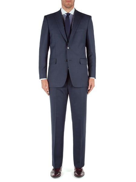 Aston & Gunn Plain Classic Fit Suit Trousers