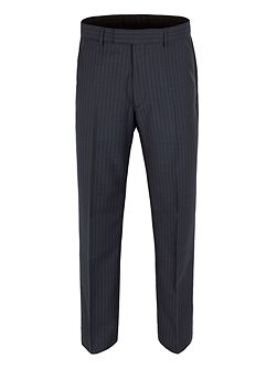Stripe Classic Fit Suit Trousers