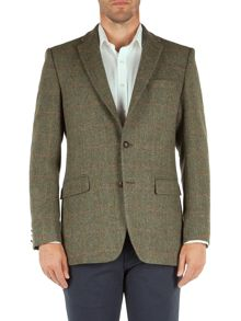 Mark Check Formal Button Blazer