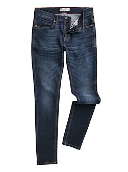 Marr slim fit stretch stone wash jeans