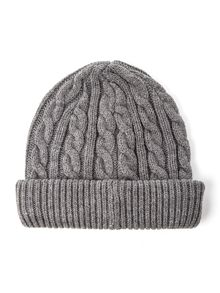 Owen cable knit hat