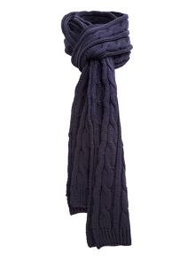 Owen cable knit scarf