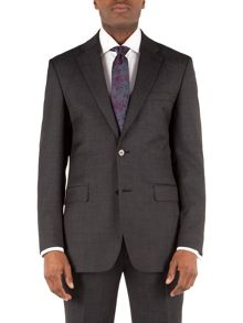 Alexandre of England Pin Dot Notch Collar Classic Fit Suit Jacket