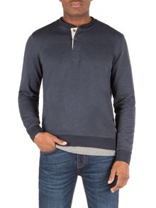 Wes Plain Crew Neck Regular Fit Jumper