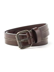 Racing Green Casual Leather Belt