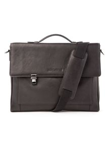 Alexandre leather briefcase
