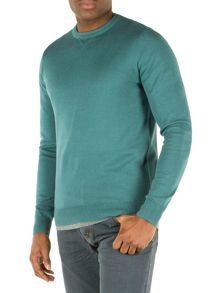 Racing Green Cutler Crew Neck Jumper