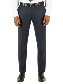 Alexandre of England Check Tailored Fit Suit Trousers