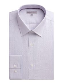 Alexandre of England Dobby Weave Tailored Fit Formal Shirt