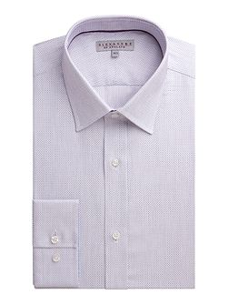 Dobby Weave Tailored Fit Formal Shirt