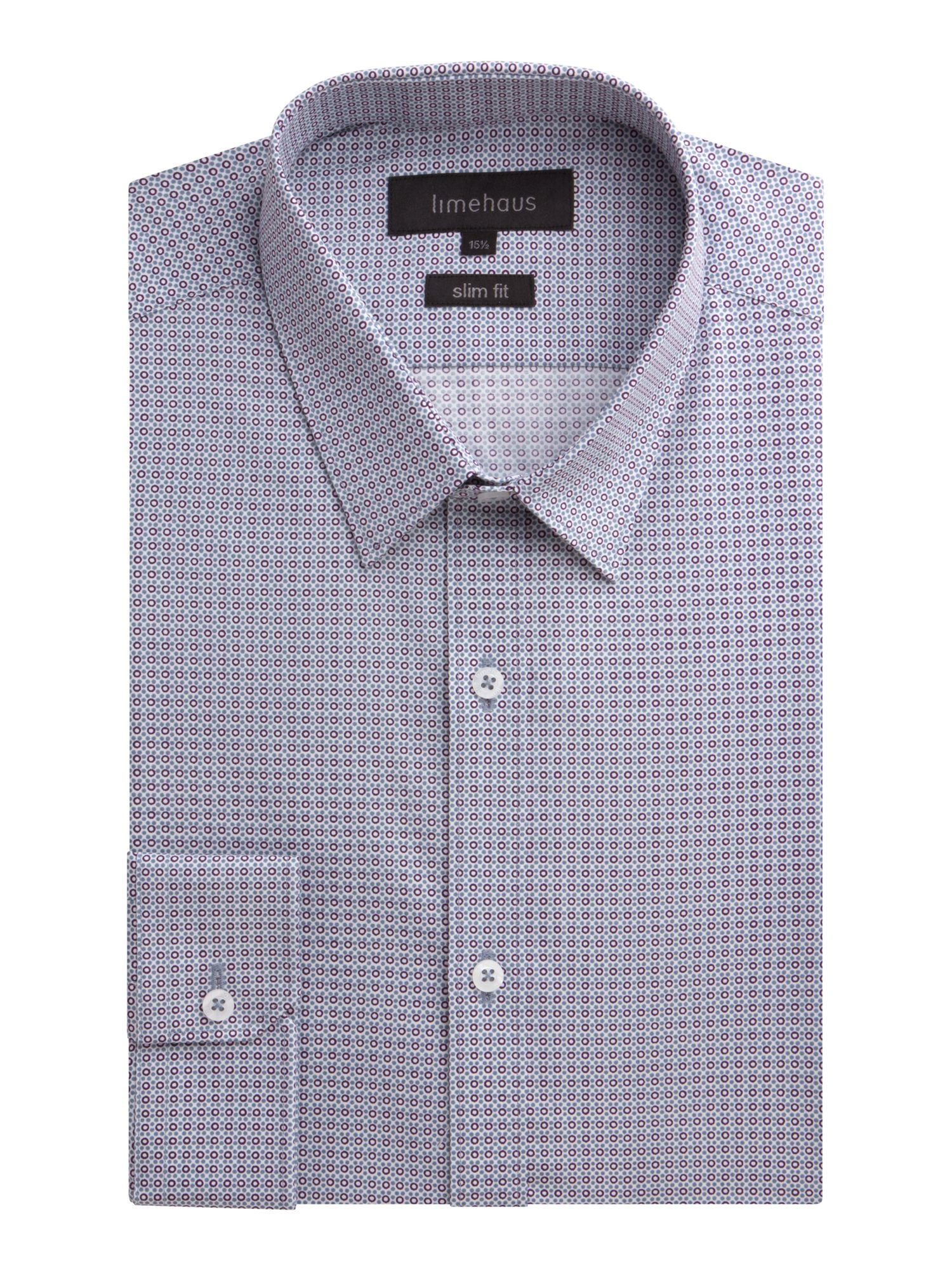 Point Collar Slim Fit Shirt House Of Fraser