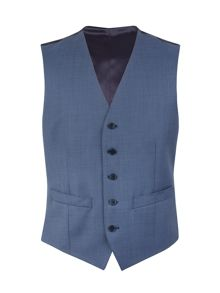 Alexandre of England Pick And Pick Regular Fit Waistcoat