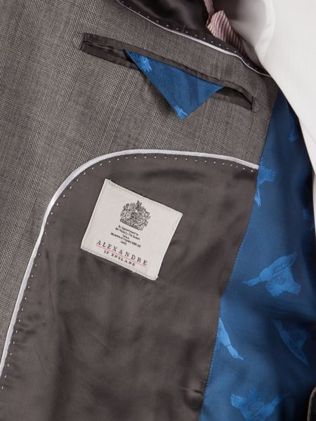 Alexandre of England Prince Of Wales Check Tailored Jacket