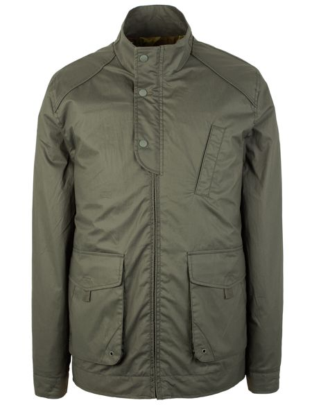 Racing Green Joiner Lightweight Coated Cotton Jacket
