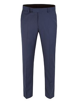 Men's Limehaus Plain Twill Slim Fit Trousers