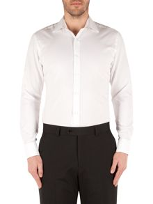 Pierre Cardin Pierre Cardin White Twill Shirt
