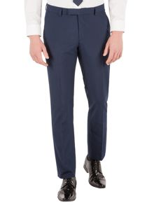 Limehaus Houndstooth Slim Fit Suit Trousers
