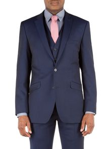 Racing Green Twill Weave Tailored Fit Jacket