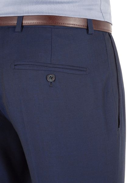 Racing Green Twill Weave Tailored Fit Trousers