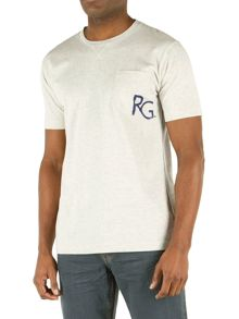 Higgins Logo And Pocket T-Shirt