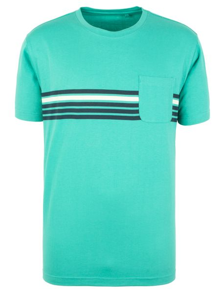 Racing Green Russell Stripe T-Shirt