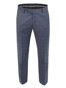 Subtle Check Tailored Fit Trouser