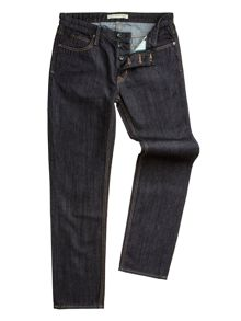 Dene Straight Fit Rinse Wash Rigid Jean