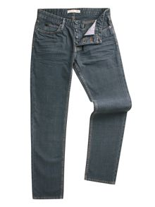 Dene Straight Fit Over-Dye  Rigid Jean