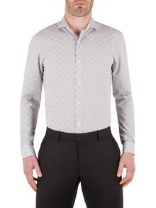 Maurice Striped Dobby Formal Shirt