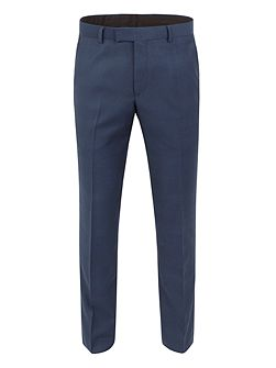 Check Slim Fit Suit Trousers