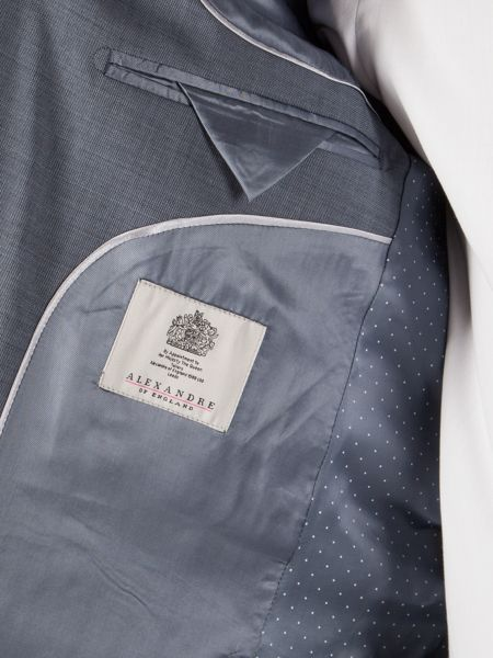 Alexandre of England Pick And Pick Tailored Fit Jacket